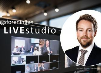 Torbjørn Røe Isaksen i LIVEstudio fredag 26. juni kl. 10.