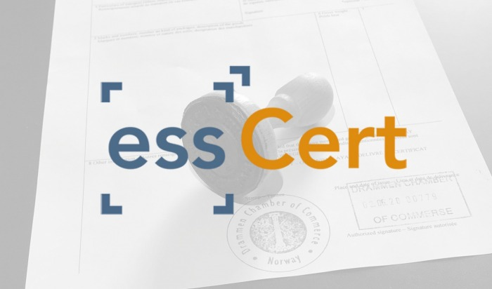Sertifisering av eksportdokumenter – nå elektronisk.
