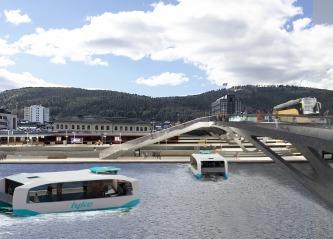 Utredning slår fast: Grunnlag for ferje i Drammen og Lier