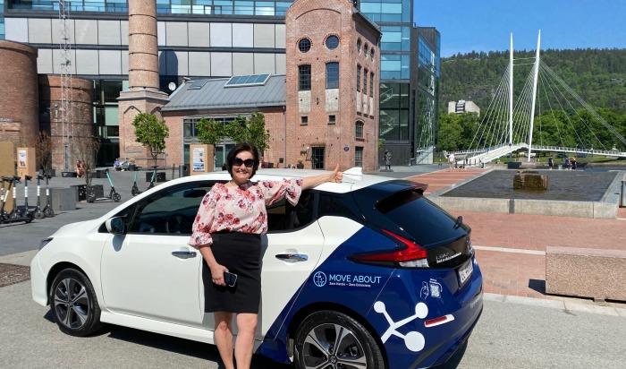 Klart for elbil-deling i Drammen